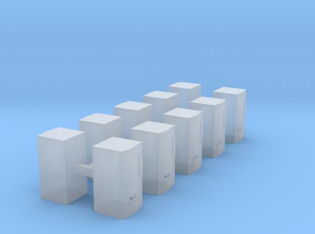 Modern Soda Machine - Z scale in Smooth Fine Detail Plastic