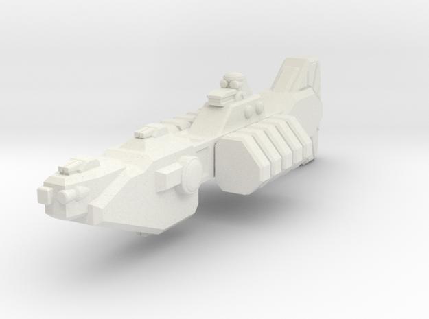 Union Destroyer in White Natural Versatile Plastic
