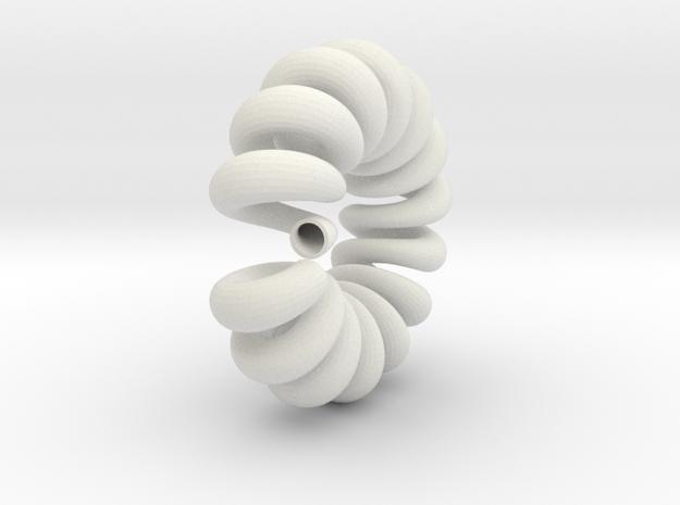 loop_360_001.dae in White Natural Versatile Plastic