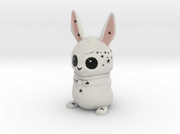 Costumizable Bowie the Bunny 3d printed