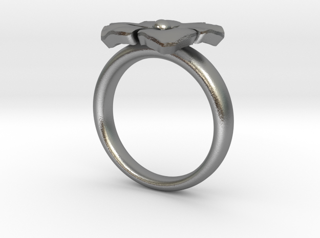 ring flower s44 3d printed
