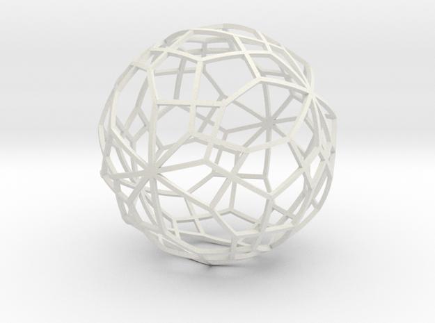 o9iii big thin in White Natural Versatile Plastic