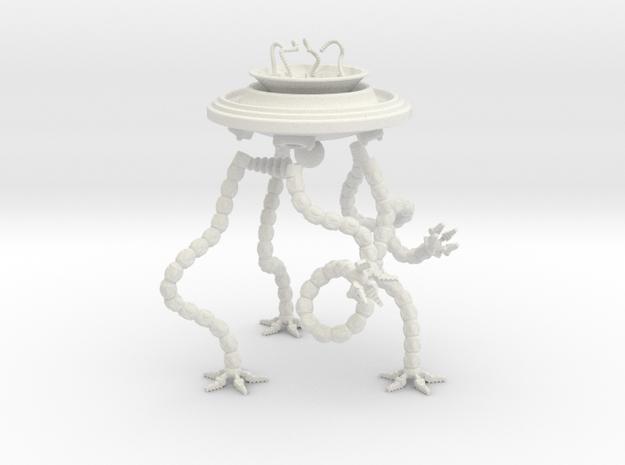 Brain, Tentacled Vehicle 3d printed