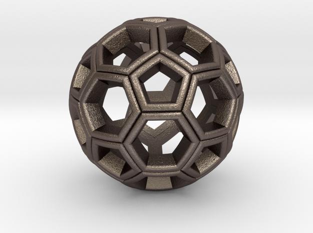 Soccer Ball Pendant 3d printed