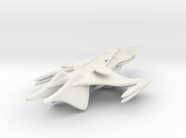 Whitestar Prototype in White Natural Versatile Plastic