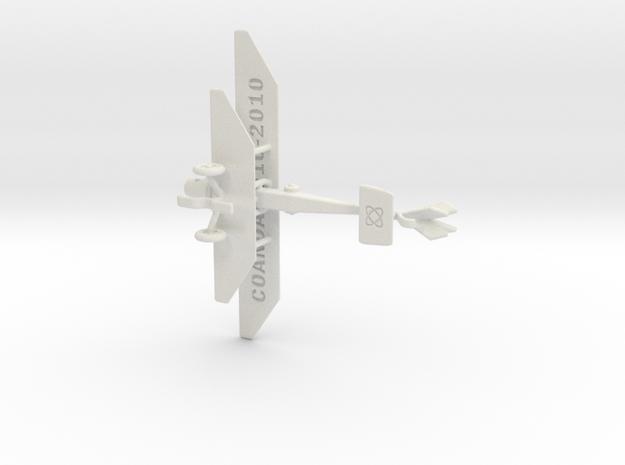 COANDA 1910 JET AIRCRAFT 3d printed
