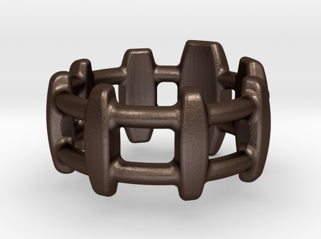Gracile Bar Ring 3d printed