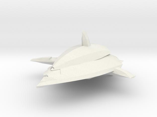 MhantaR Ship in White Natural Versatile Plastic
