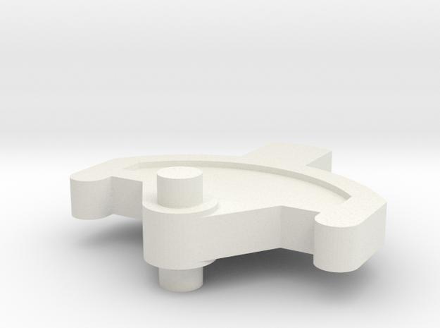 Spektrum DX6i trimmer in White Natural Versatile Plastic