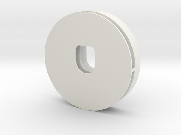 u5 in White Natural Versatile Plastic