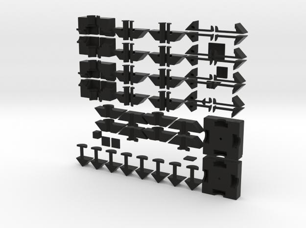 Quartet set 3d printed