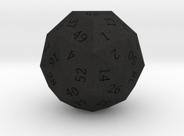 Pentakis Dodecahedral 60-sided die 3d printed