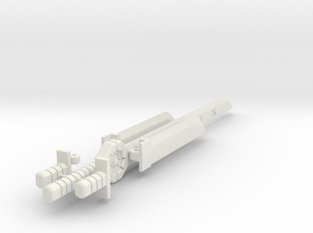 Drift Sword kit in White Natural Versatile Plastic