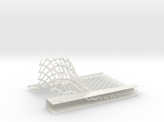 Car Factory Roof section 002 3d printed