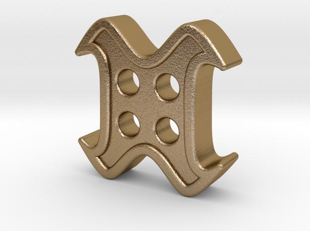 designer button 3d printed