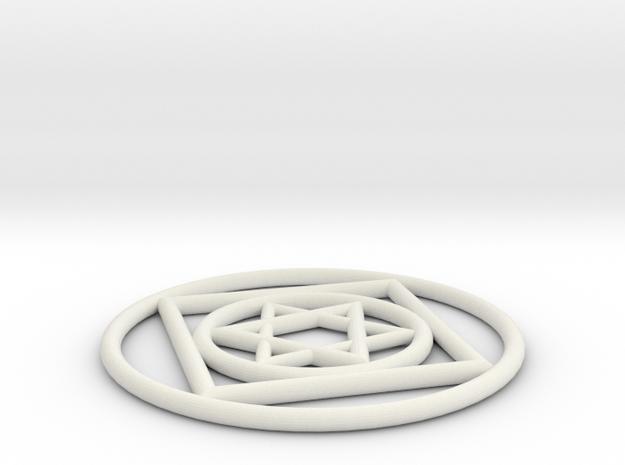 jacs in White Natural Versatile Plastic