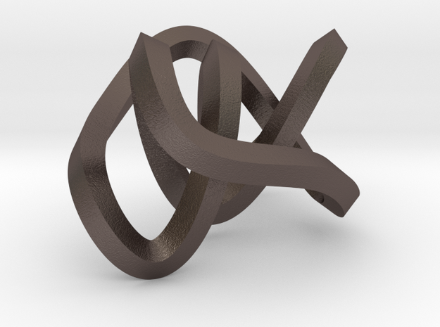 small mobius figure 8 knot 3d printed
