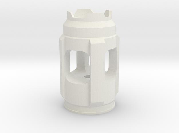 sonichead in White Natural Versatile Plastic