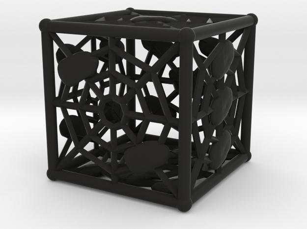 Webby die D6 (dice) 3d printed