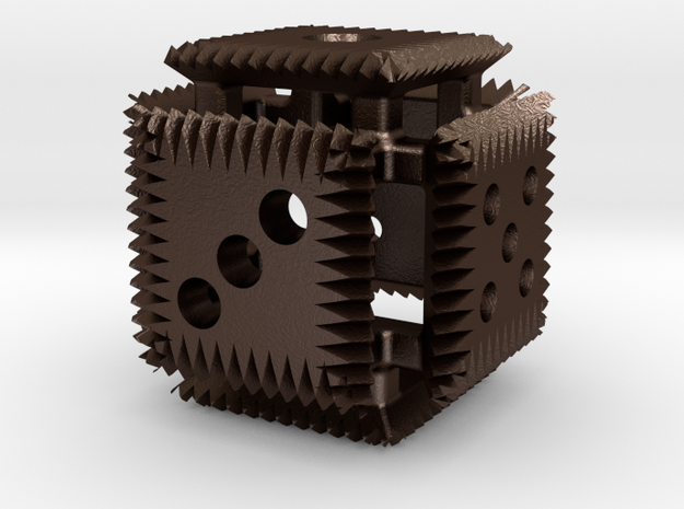 Open Face Clawed Die 3d printed