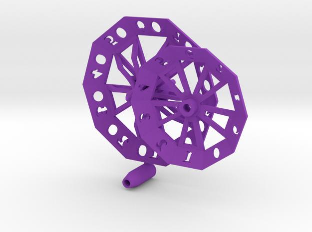 ''d100 Spinner'' 3d printed
