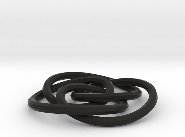 small cycloidal knot 3d printed
