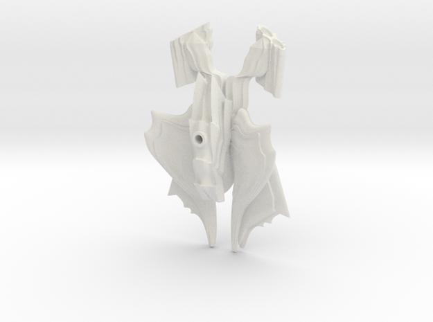 Hkri'ken Strike Fighter 2 in White Natural Versatile Plastic