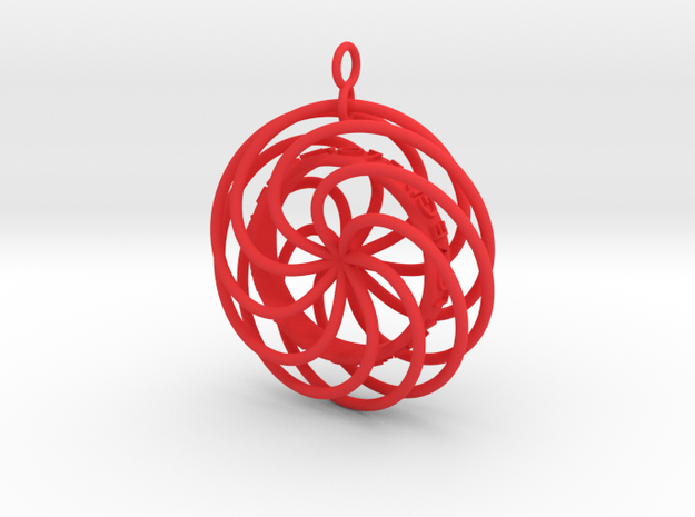 Give Love Get Love moving Pendant 3d printed