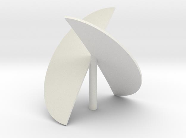 paraprop in White Natural Versatile Plastic