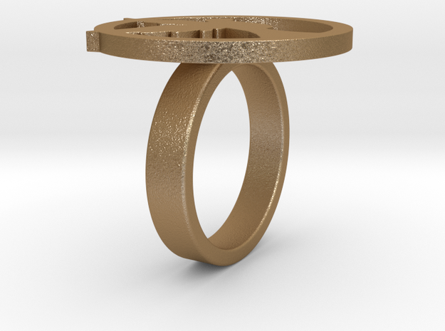 Lucy Ring 3d printed