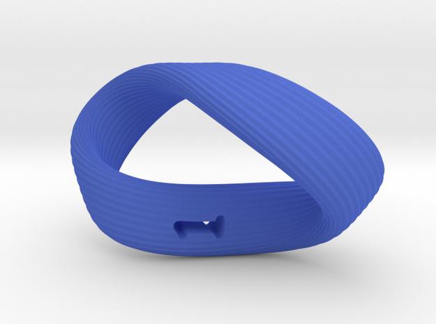 Mobius 1-Sided Die Version 2 3d printed