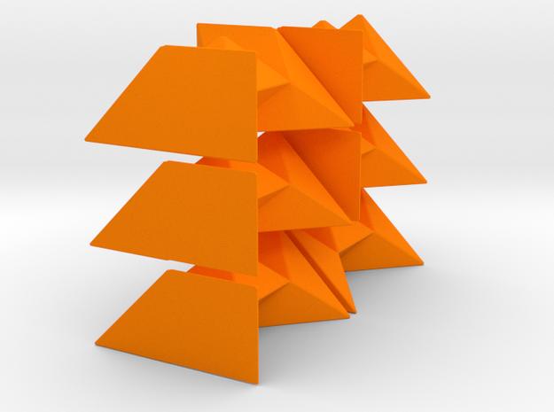 Diagonal Cube Puzzle 3d printed