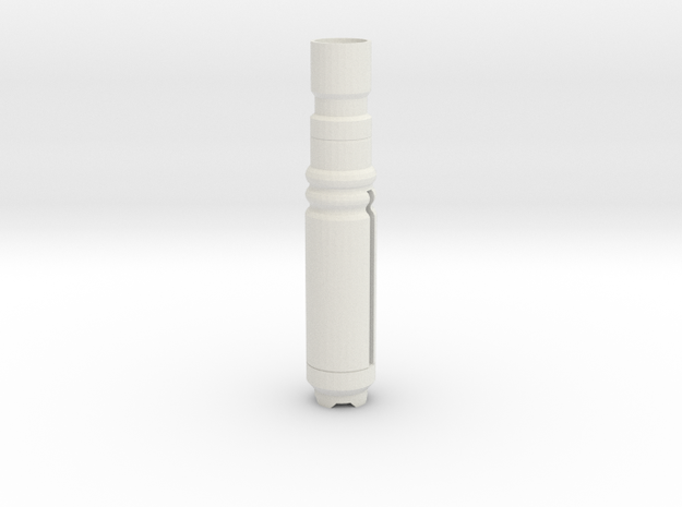 Screwbody3 in White Natural Versatile Plastic