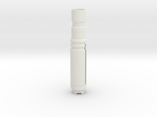 Screwbody3 in White Natural Versatile Plastic