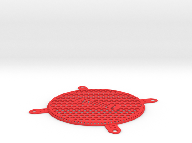 Personalized Fan Grill 92mm 3d printed