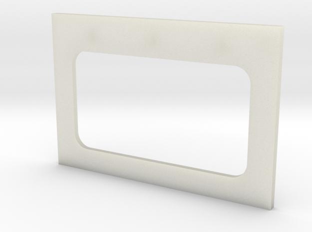 Bulkhead Door Base in Transparent Acrylic