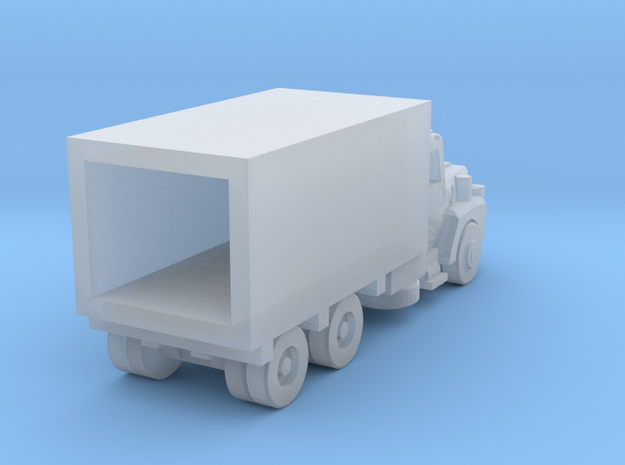 Mack Delivery Truck - Open Cab - Z scale in Smooth Fine Detail Plastic