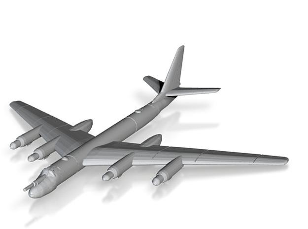 Tu-95 1:700 x1 3d printed