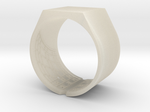 Ima Ring 3d printed Ima Ring as a thumb ring.