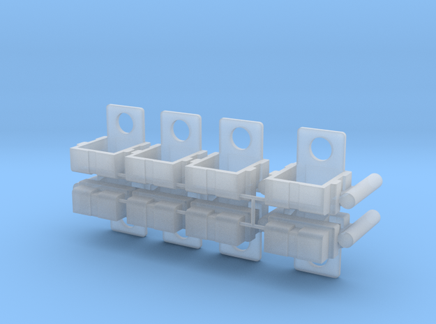 Commando Delta 2pk in Smooth Fine Detail Plastic