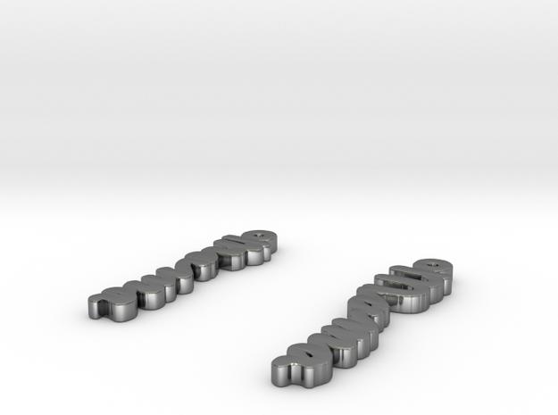 draw-earrings-3.stl 3d printed