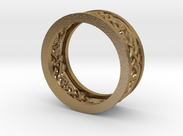 Heart Celtic Knot Ring size 7 3d printed
