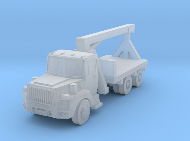 Mack Crane Truck - Z scale in Smooth Fine Detail Plastic