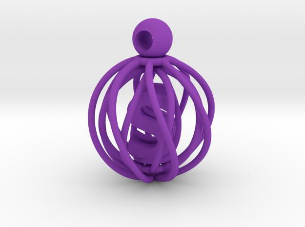 Ambicage 3d printed Indigo - S & W