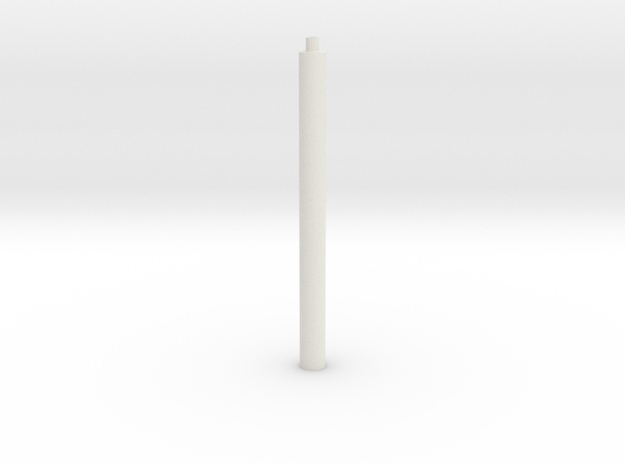 1x1x∞ rods (Print ∞) in White Natural Versatile Plastic