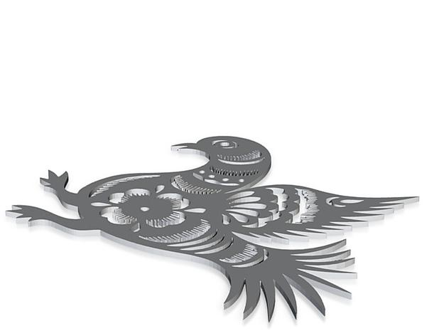 pigeon 3d printed