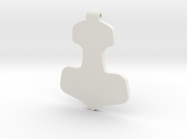 wunjo hammer in White Strong & Flexible