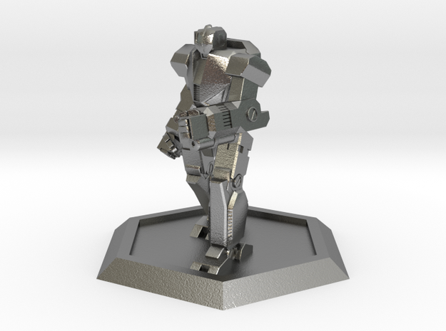 Mecha- Odyssey- Ajax (1/500th) in Natural Silver