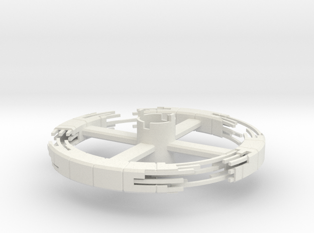 B.Y.O.S.S. Ring Square Construction ver1 in White Strong & Flexible