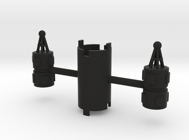 B.Y.O.S.S. 2 Cylinders Vertical 3d printed
